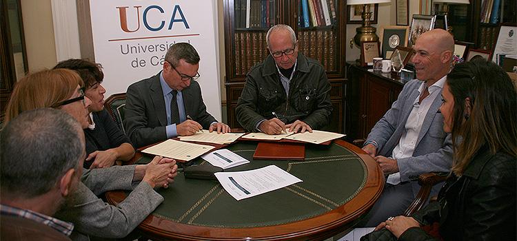 UCA y FEGADI cooperarán por la plena integración de las personas con discapacidad en la Universidad