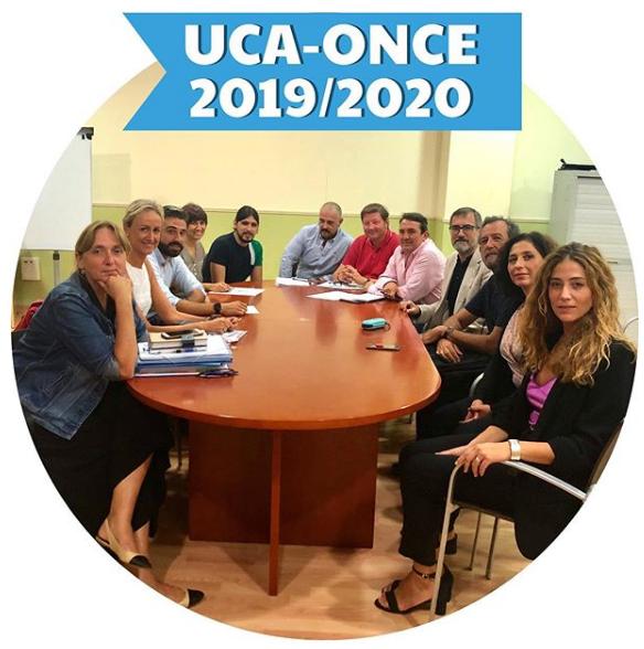Se realiza la 1º Reunión de coordinación y trabajo SAP/ONCE 2019/20
