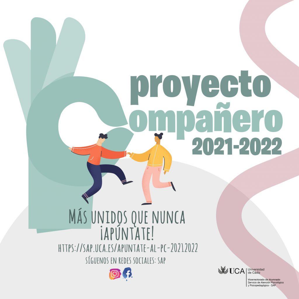 Apúntate al Proyecto Compañero 2021/22